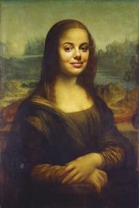Portrait façon Mona Lisa